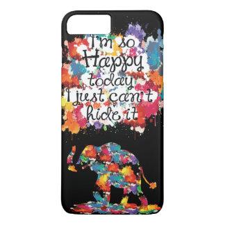 Soy el iPhone tan feliz 7 de Barely There de la Funda iPhone 7 Plus