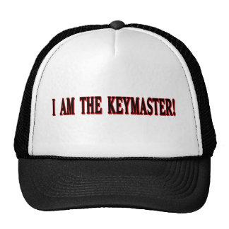 ¡Soy el Keymaster! Gorras