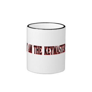 ¡Soy el Keymaster! Taza A Dos Colores