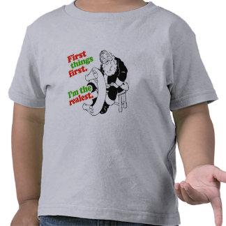 Soy el más realest - humor del día de fiesta camiseta
