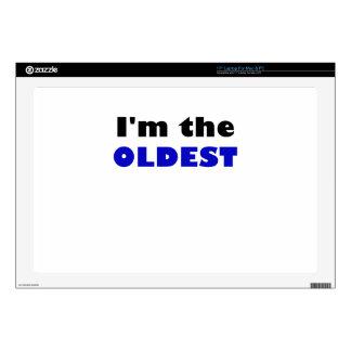 Soy el más viejo calcomanía para portátil