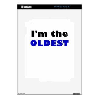 Soy el más viejo calcomanías para iPad 2