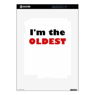 Soy el más viejo skin para el iPad 2