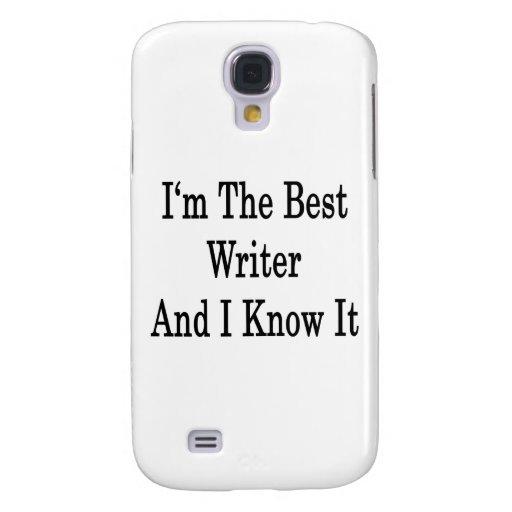 Soy el mejor escritor y lo sé