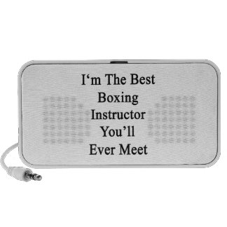 Soy el mejor instructor del boxeo que usted se enc iPod altavoz