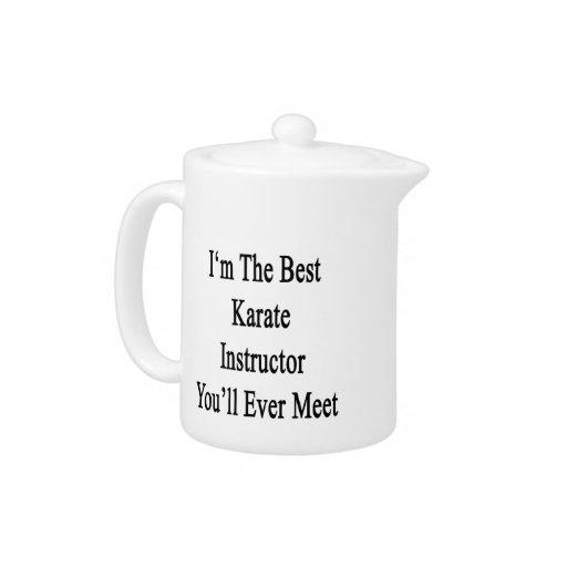Soy el mejor instructor del karate que usted se en