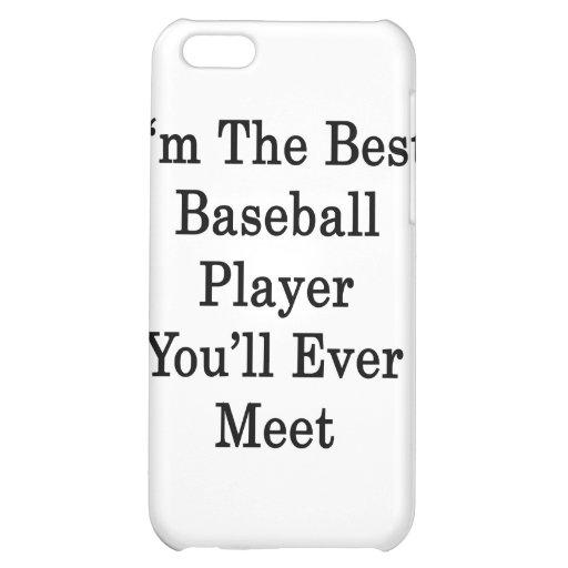 Soy el mejor jugador de béisbol que usted se encon
