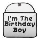 Soy el muchacho del cumpleaños funda para macbook pro