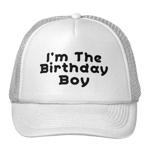 Soy el muchacho del cumpleaños gorra
