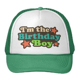 Soy el muchacho del cumpleaños gorras