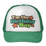 Soy el muchacho del cumpleaños gorro de camionero