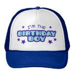 Soy el muchacho del cumpleaños gorros bordados