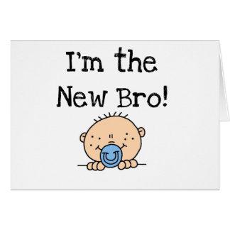 Soy el nuevo Bro Tarjeta De Felicitación