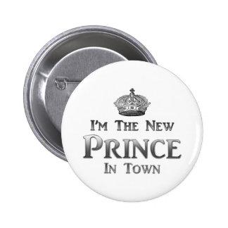 Soy el nuevo príncipe In Town Pin Redondo 5 Cm