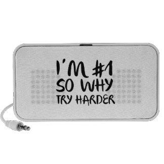 Soy el número 1 tan porqué intento más difícilment laptop altavoces