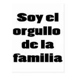 Soy El Orgullo De La Familia Postcard