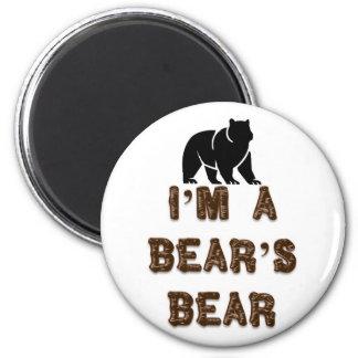 Soy el oso de un oso imán redondo 5 cm