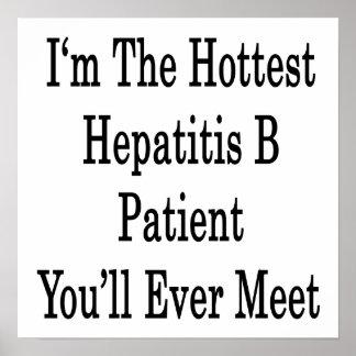 Soy el paciente más caliente de la hepatitis B que Impresiones