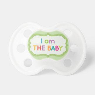 Soy el pacificador divertido del bebé chupetes de bebe