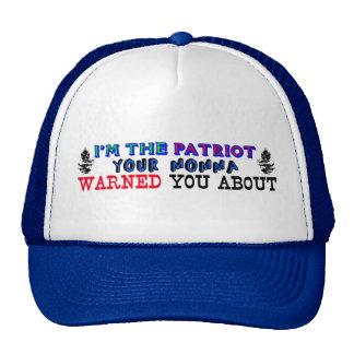 Soy el patriota gorras