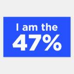 Soy el pegatina del 47%