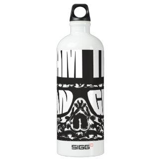 Soy el peligro botella de agua