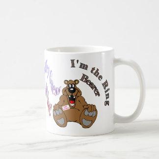 Soy el portador de anillo 1a tazas de café