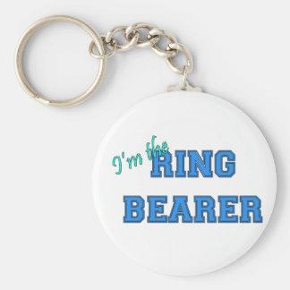 Soy el portador de anillo llaveros personalizados
