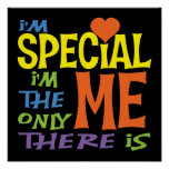 Soy el poster de los niños especiales