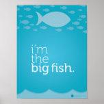 Soy el poster grande de los pescados