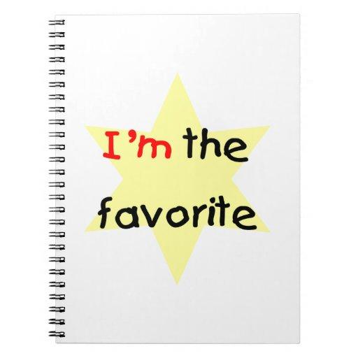 Soy el preferido (el amarillo) libretas