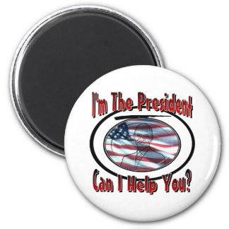 Soy el presidente imán redondo 5 cm