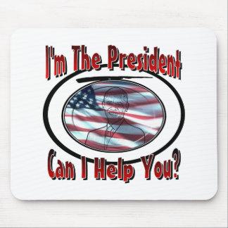 Soy el presidente tapete de ratón
