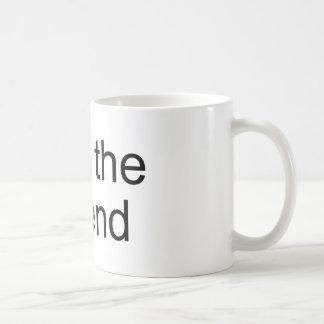 Soy el producto del funcionario de la leyenda tazas