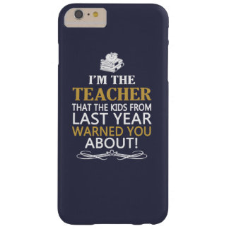 Soy EL PROFESOR Funda Barely There iPhone 6 Plus