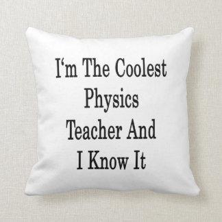 Soy el profesor más fresco de la física y lo sé almohadas