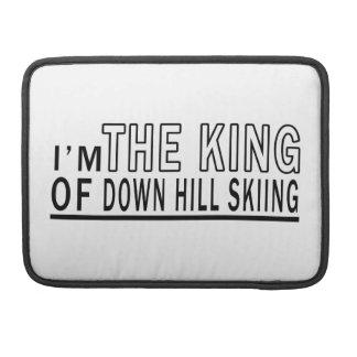 Soy el rey Of Down Hill Skiing