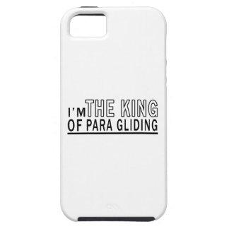 Soy el rey Of Para Gliding iPhone 5 Carcasas