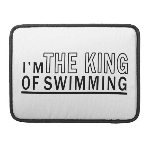 Soy el rey Of Swimming Fundas Para Macbook Pro