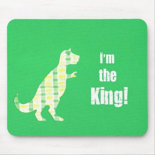 ¡Soy el rey! Tapete De Ratones