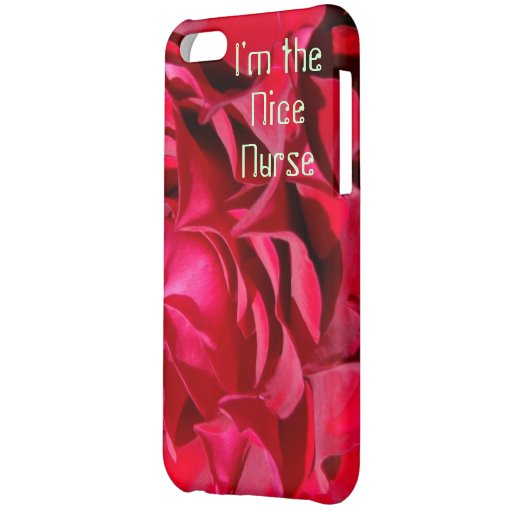 Soy el rosa color de rosa rojo Niza de la enfermer