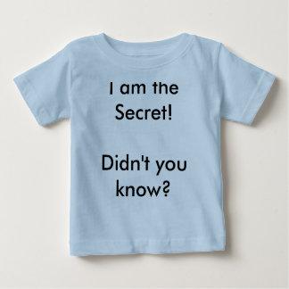 ¡Soy el secreto! ¿Usted no sabía? T-shirt