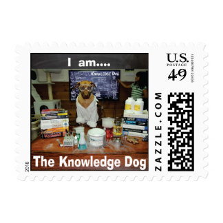 Soy el sello del perro del conocimiento