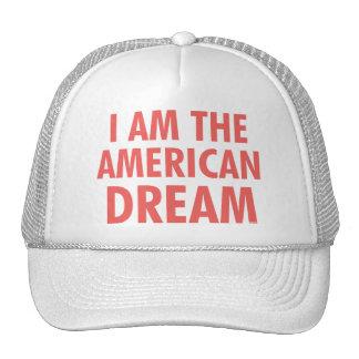 Soy el sueño americano gorro