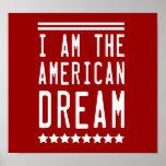 Soy el sueño americano impresiones