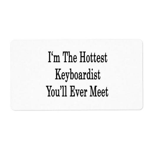 Soy el teclista más caliente que usted se encontra etiqueta de envío