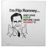Soy el tirón Romney.png Servilleta De Papel