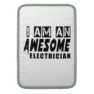 Soy ELECTRICISTA impresionante Fundas Macbook Air
