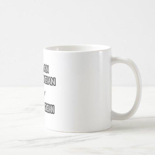 Soy electricista… no un mago taza de café