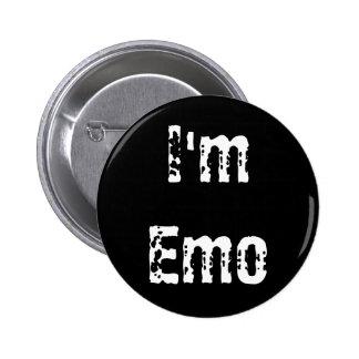 Soy Emo Pin Redondo De 2 Pulgadas